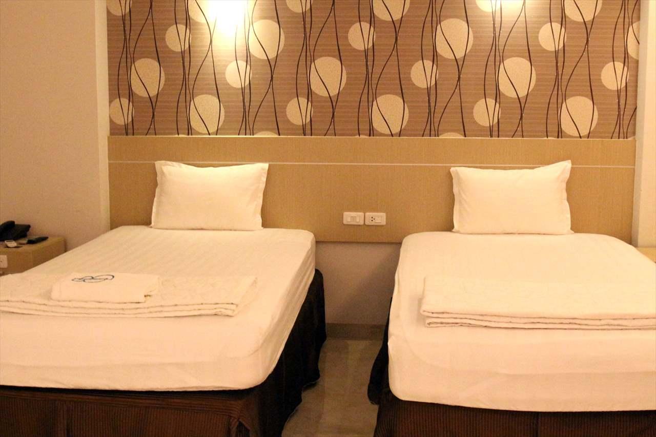 ホーチミンのホテルの一室