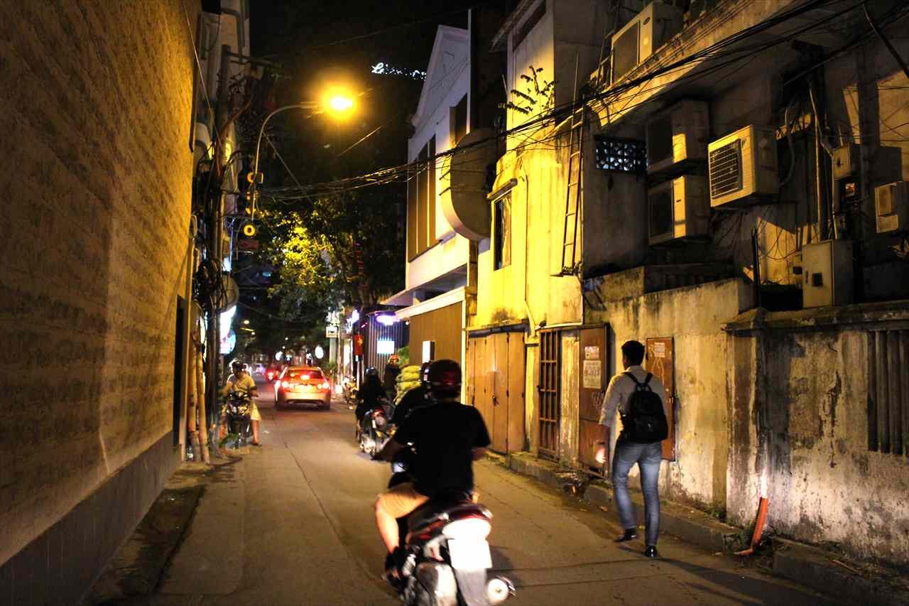 ゴーバンナム通りの入り口