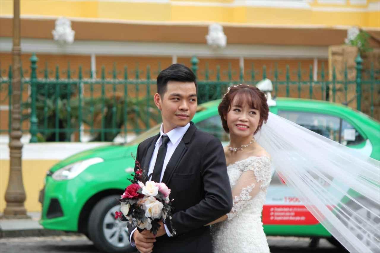 ベトナム人新郎新婦