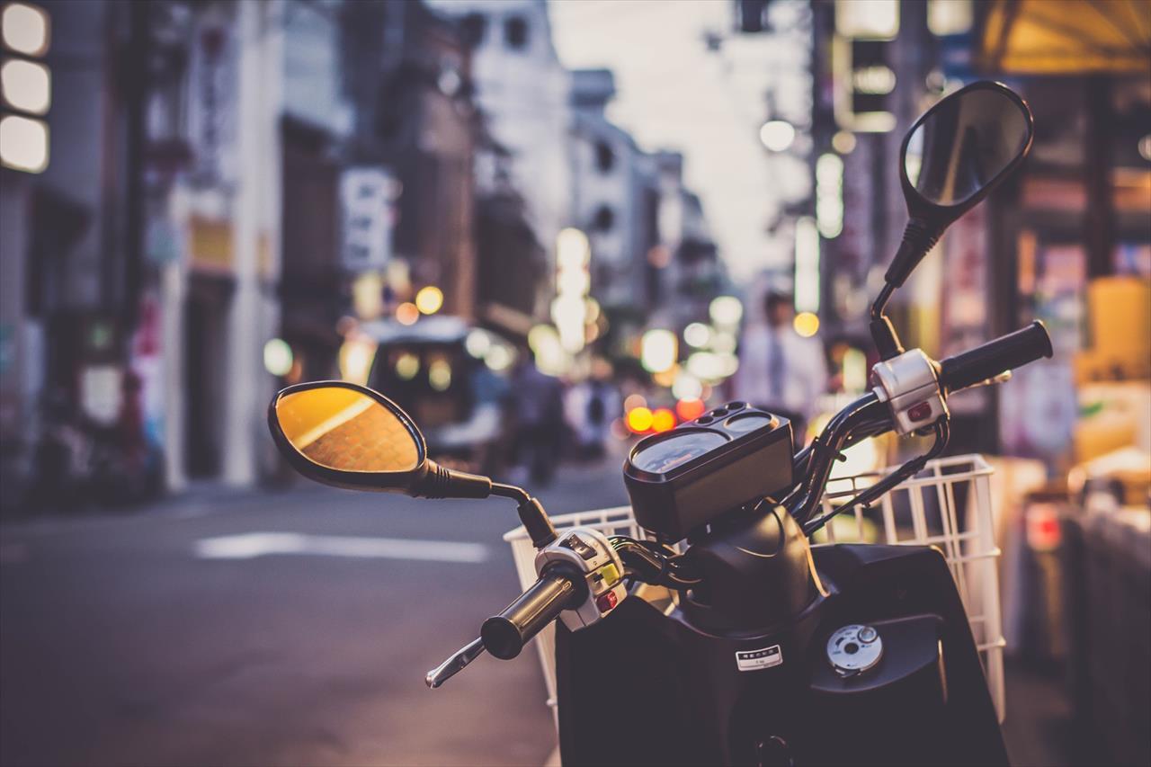 ベトナムのバイクの写真