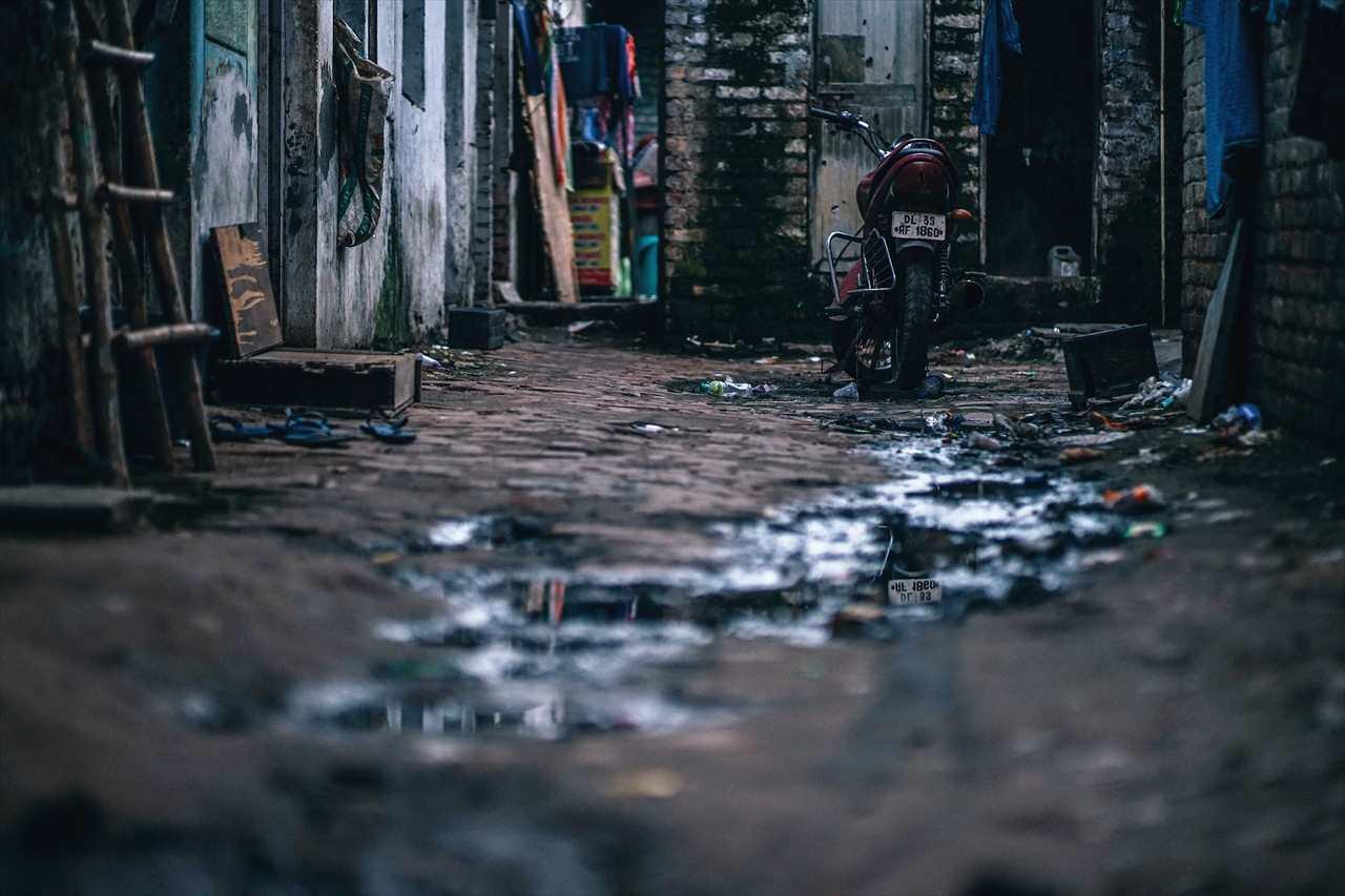ベトナムの路地裏