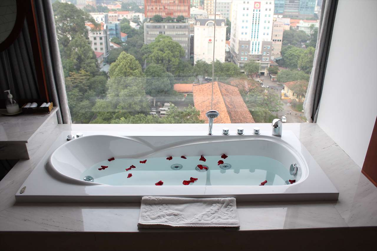 ホーチミンのセントラルパレスホテルの「スカイスパ」の写真