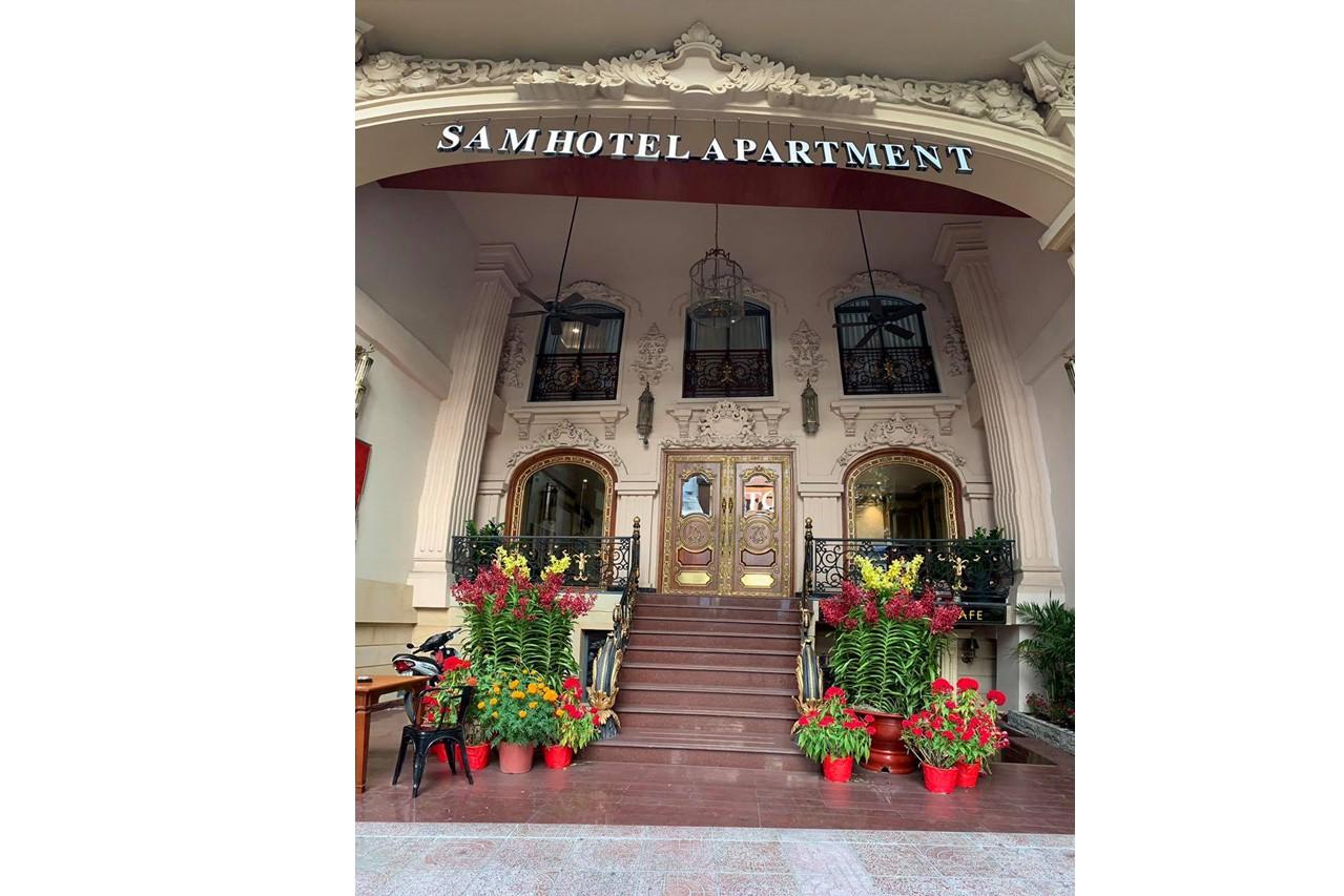 サムホテルの外観
