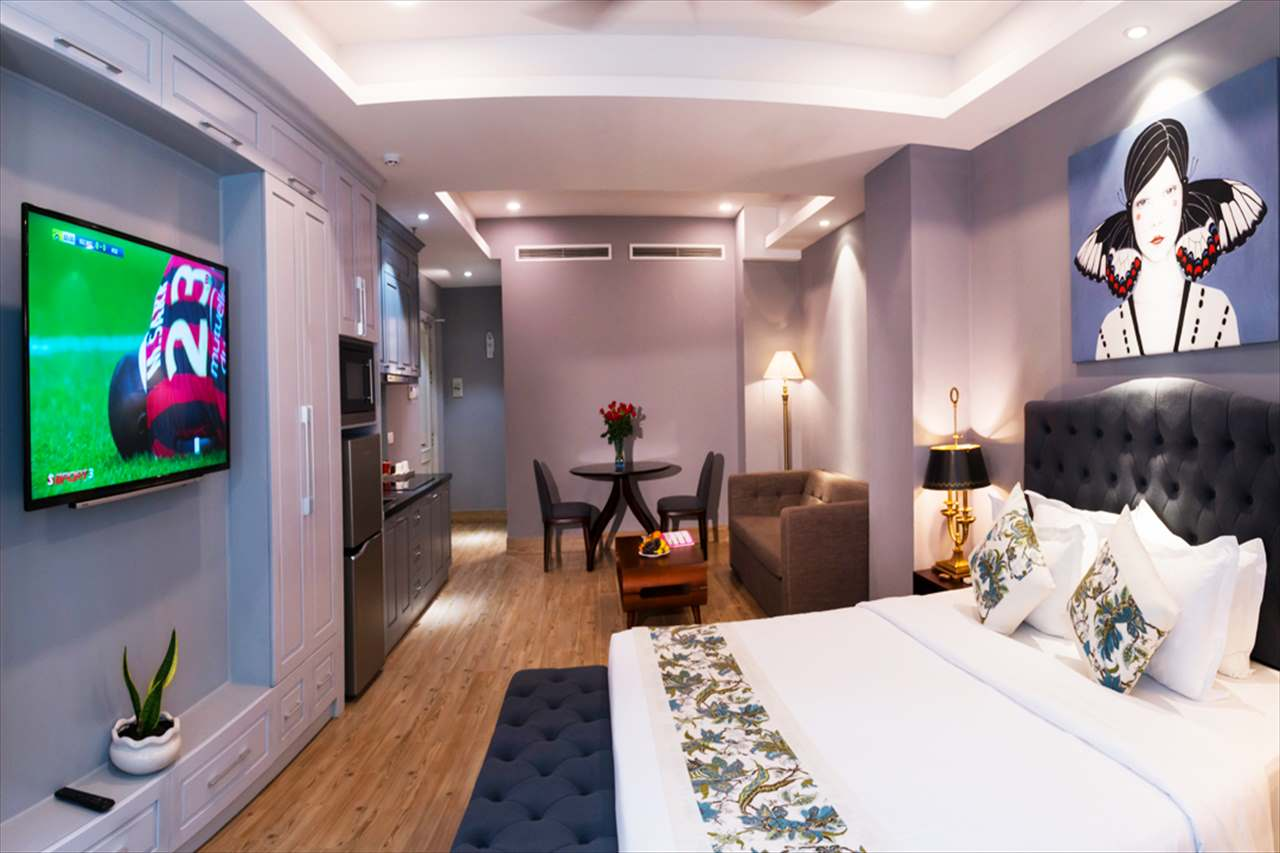 アパートメントAの客室