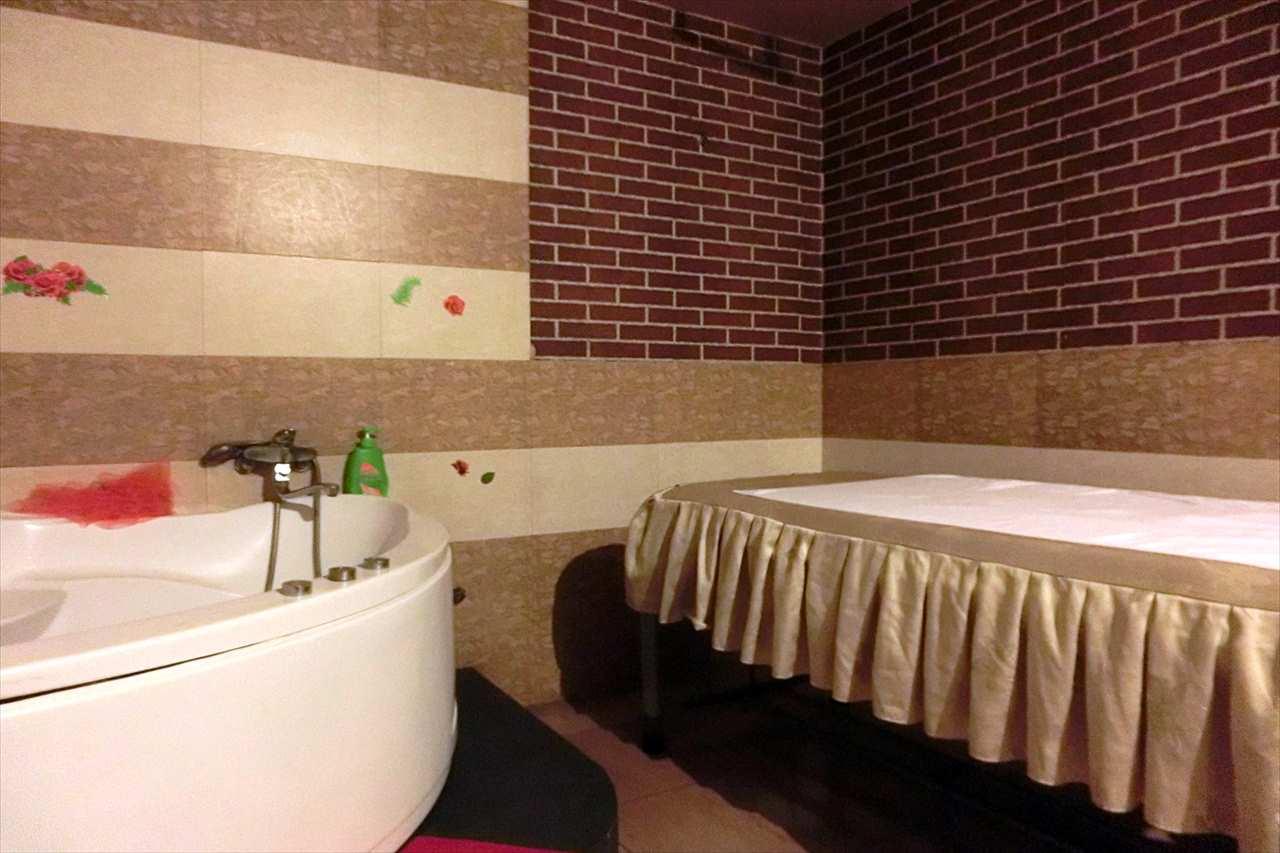 お風呂つきのお店もある