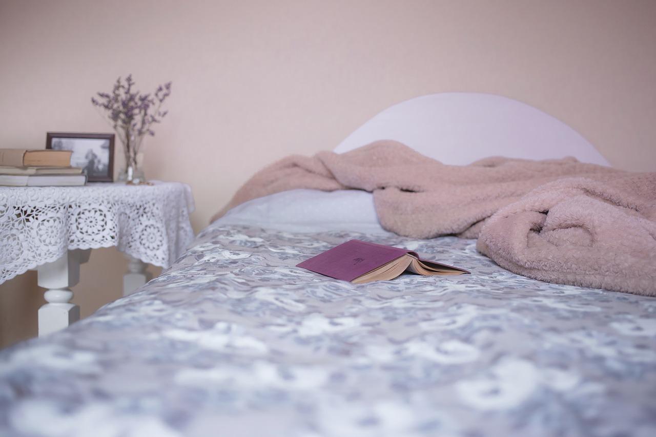 ベッドが用意されているお店もある