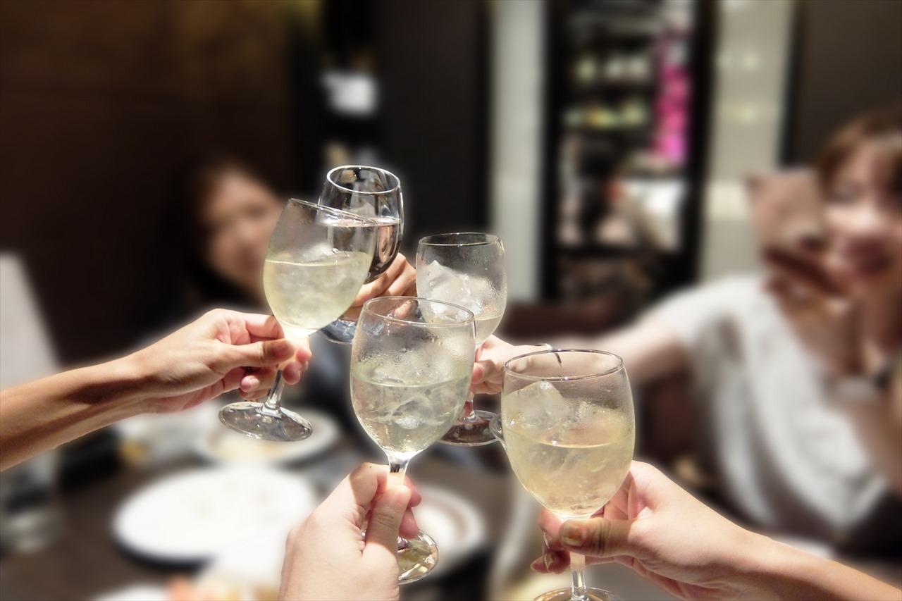 飲み会の写真