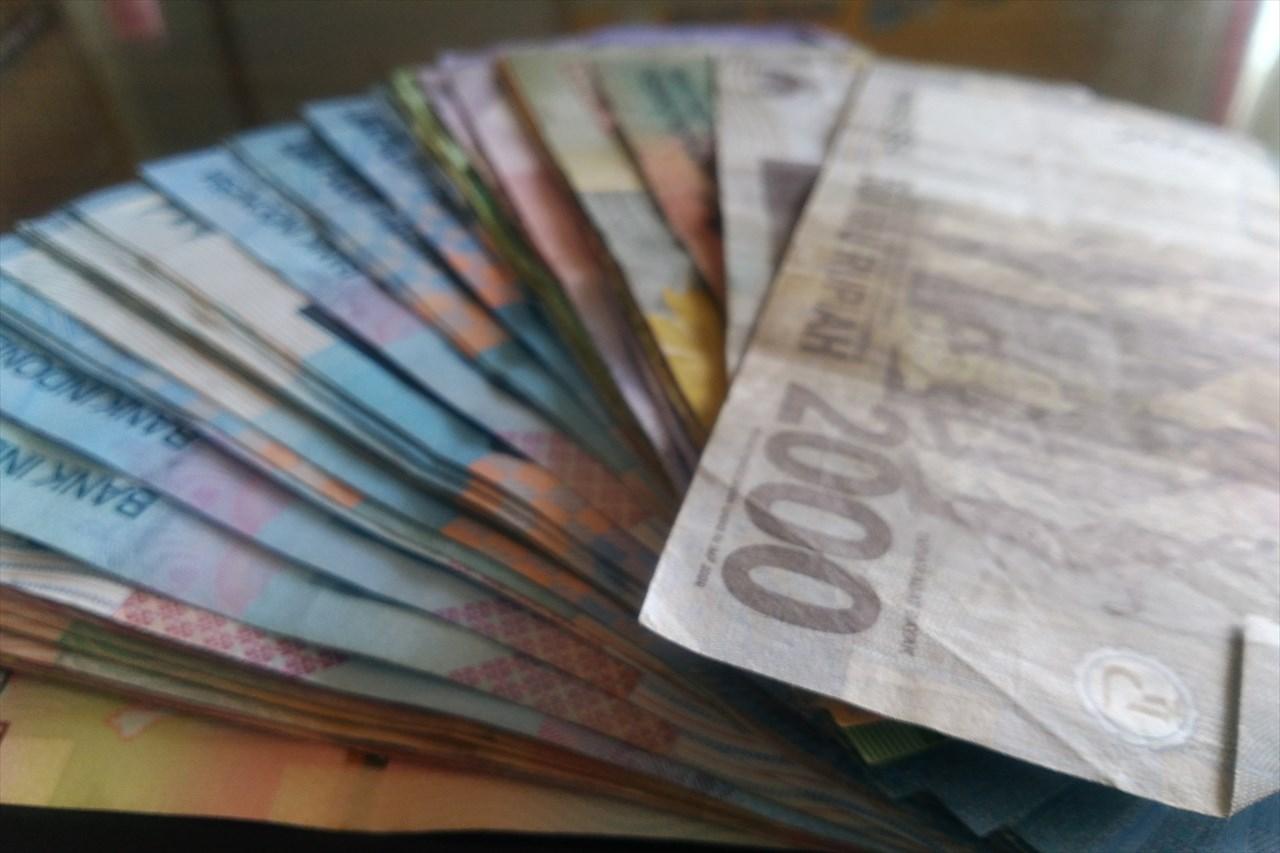異国のお金の写真